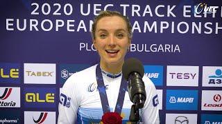 #EuroTrack20 | Elinor Barker