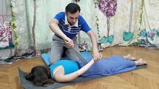 Как легко сделать массаж железным веником девушке