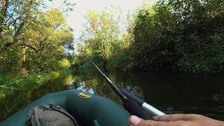 ДАВНО Я ТАКИХ НЕ ЛОВИВ, а тут у маленькій річці зловив! Рибалка на спінінг восени.