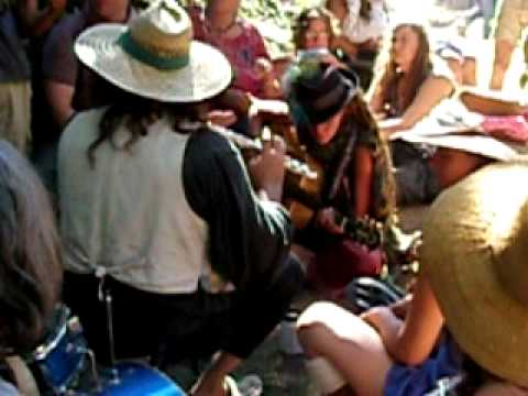 Rainbow Gathering 2011 July 5th Jam.AVI