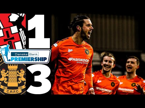 Crusaders Carrick Rangers Goals And Highlights