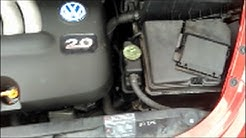 VW Beetle Battery Swap How To