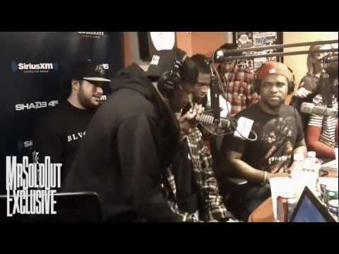 ASAP Rocky x ASAP Mob Freestyle Live on StreetSweeper Radio with DJ Kayslay