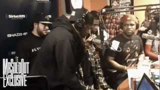 Asap rocky x asap mob freestyle live on streetsweeper radio with dj kayslay
