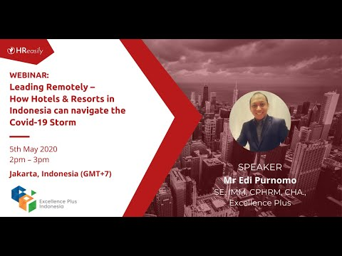HReasily Webinars – How Indonesian Hotels & Resorts, can navigate the Covid-19 Storm