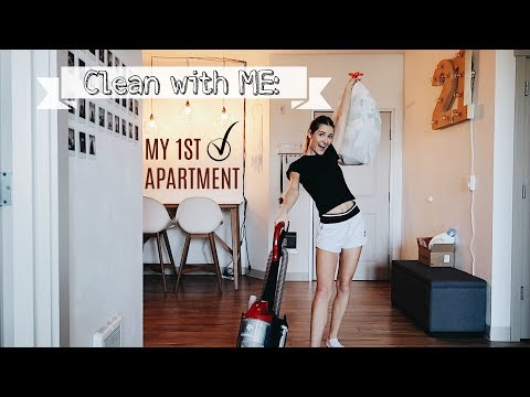 My Apartment Cleaning Routine *how to make  your space sparkle*