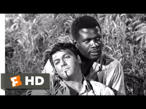 The Defiant Ones (1958) - Chasing the Train Scene (9/9) | Movieclips