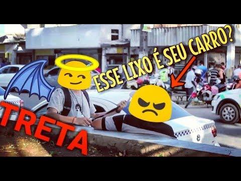 PEGADINHA- QUEM QUER BILOLA DE BOI? \ & TRETA COM TAXISTA !!