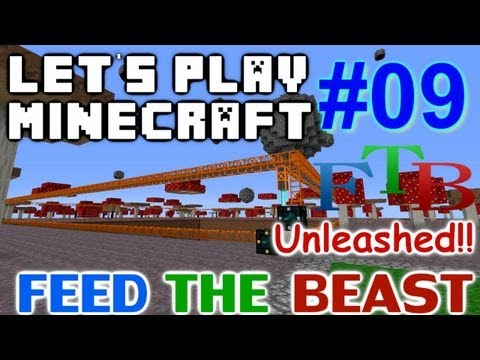 Let's Play Minecraft FTB Hermit Unleashed Ep 9 - Quarry Time!!!
