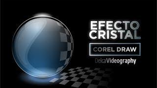 Cómo crear EFECTO CRISTAL en Corel DRAW | DelcaVideography