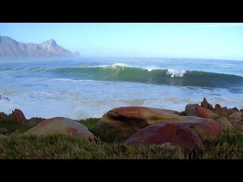Relaxing nature video - big ocean waves crashing - relaxing ocean sounds - HD1080P