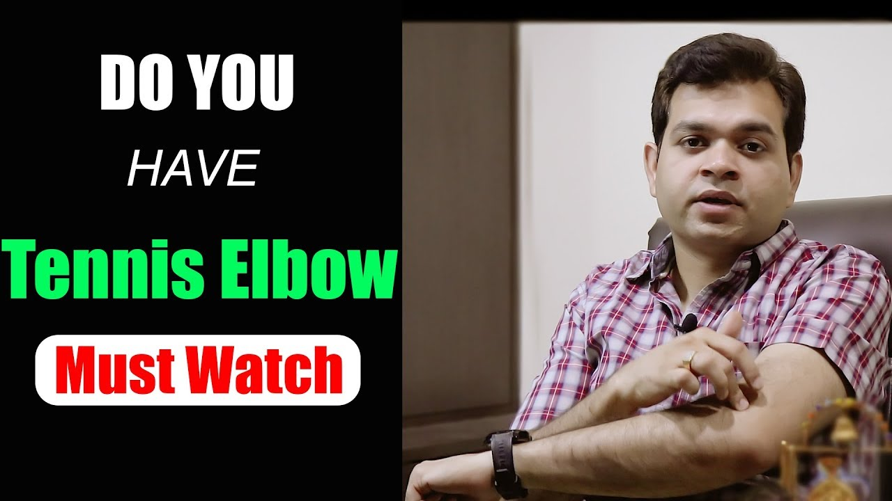 Treatment for tennis elbow in hindi Video