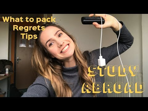 Study Abroad Packing Essentials + Tips