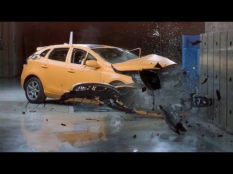 CRASH TEST ► 2014 Volvo V40