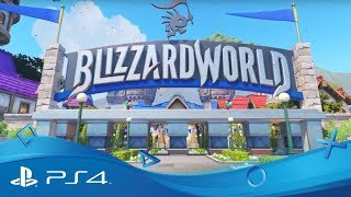 Blizzard World | New Hybrid Map | Overwatch® | PS4