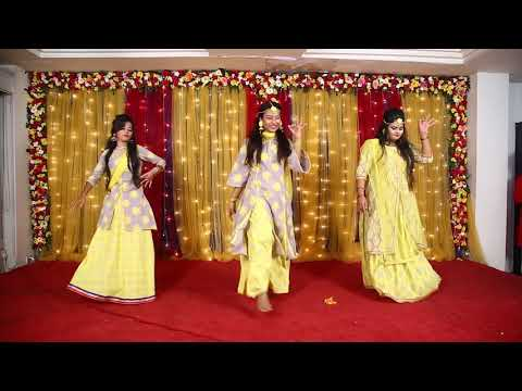 11 - Tu Cheez Badi -  Orpita, Priya, Reshmi & Nishat Bangladeshi Wedding Dance Performance