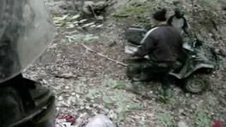ATV Romania - bex team - valenii 15.05 coborare in cap (partea 2)