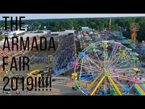 budweiser-clydesdale-horses-drone-4k-armada-fair-2019