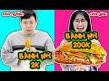 Bánh Mỳ 200k vs Bánh Mỳ 2k - Sự Khác Nhau Giữa Con Nhà Giàu và Con Nhà Nghèo