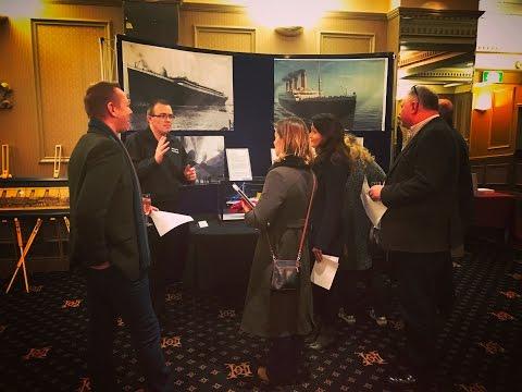 Nigel Voisey's Titanic Exhibition 2017