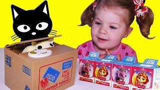 ✿ КОТ в КОРОБКЕ и Бокс Сюрприз Королевские Питомцы Toys Surprise Box Unboxing(Еще приглашаем посмотреть наши плейлисты: ✿ Игрушки. Распаковка, обзор и игры с новыми Игрушками: http://goo.gl/o7dY..., 2016-05-01T07:02:43.000Z)