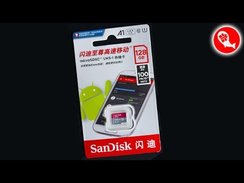 Карта памяти MicroSD 128GB SanDisk Ultra A1 UHS-I из Китая | Обзор и тестирование