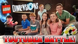 LEGO Dimensions YOUTUBER BATTLE!!! ft. Bratayley, Flippin' Katie & Working with Lemons!