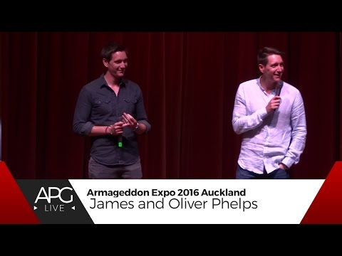 Armageddon Expo Auckland 2016 : Saturday - James and Oliver Phelps/ Harry Potter Panel [#APGLive]