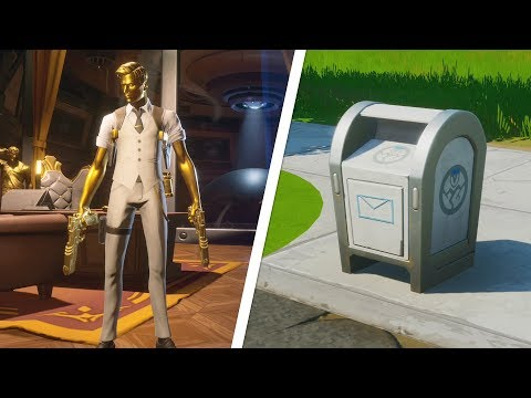 Deliver Legendary Weapons To GHOST Dropboxes Locations - Fortnite