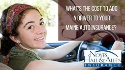 How Much Does it Cost to Insure a Teenage Driver in Maine