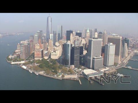 Helicopter tour NYC flight Liberty Ride Groud Zero Manhattan Freedom Tower Brooklyn Bridge ヘリコプター