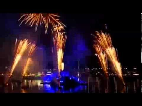 Australia Day Spectacular Sydney Darling Harbour Fireworks 2014