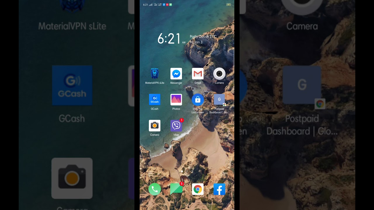 How to screen recording in Oppo A9 2020