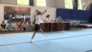 Чемпионат по батуту и акробатической комбинации, 1-е место Лалаев Вова