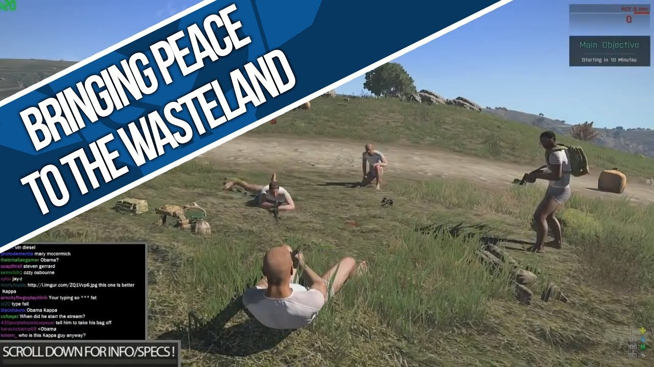 how to drink arma 3 wasteland