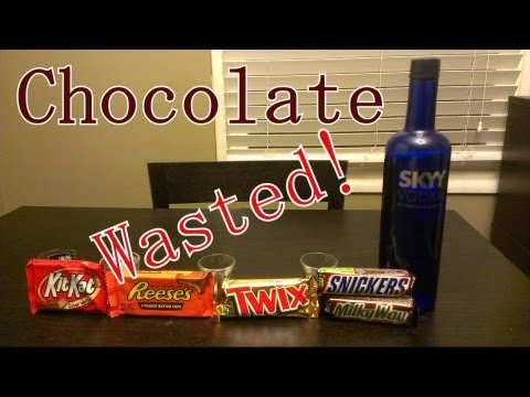 Getting Chocolate Wasted!