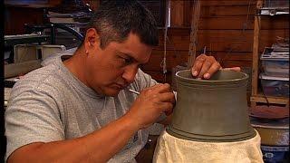 Joel Queen:  Cherokee Potter, Sculptor & Woodcarver