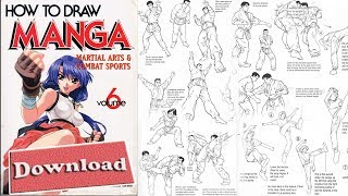 06  How To Draw Manga Vol  6 Martial Arts & Combat Sports