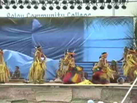Traditional dance of Yap, Federated States of Micronesia