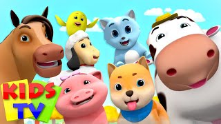 Animals Sound Song | Kids Songs & Animal Noises | Nursery Rhymes & Children's Music by Boom Buddies