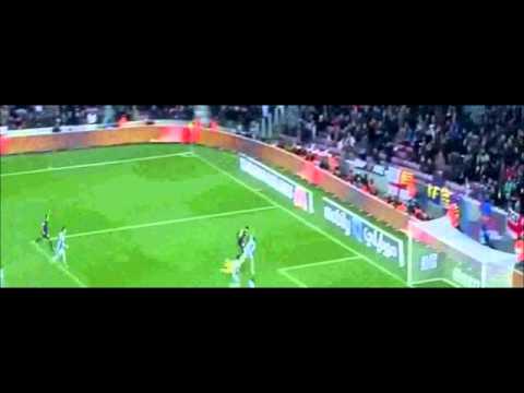 Lionel Messi All 4 Goals Vs Osasuna