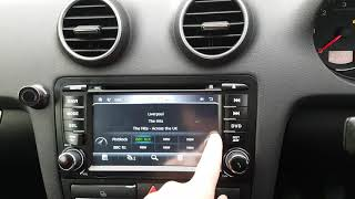 How to install gps maps in xtrons win ce car radio