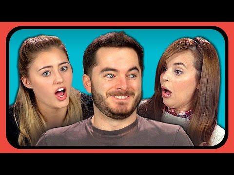 YouTubers React to Don't Hug Me I'm Scared 5