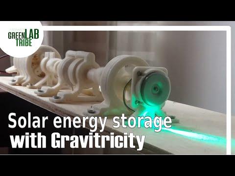 Gravitricity and Solar energy storage