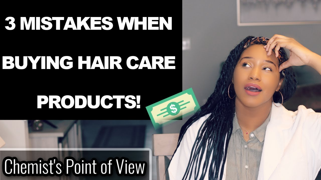 TOP 3 MISTAKES WHEN BUYING HAIR CARE PRODUCTS!
