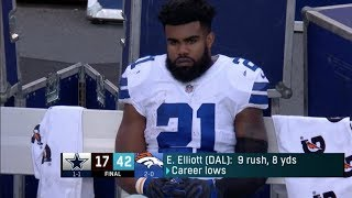 10 Biggest DISAPPOINTMENTS of the 2017 NFL Season