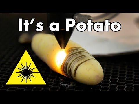 Can a Laser Cook Potato Chips?