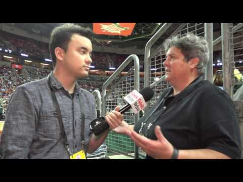 Seattle Storm owner and former Microsoft exec Lisa Brummel at the WNBA All-Star Game