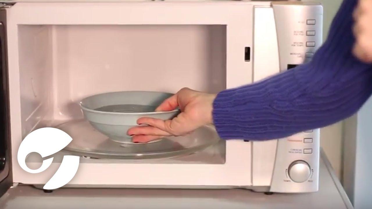 Cómo Limpiar Tu Horno Microondas Youtube