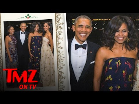Something's Missing From The Obama's 2016 Christmas Card | TMZ TV ...